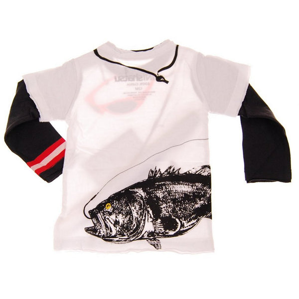 The Big Catch Baby Twofer Shirt by: Mini Shatsu