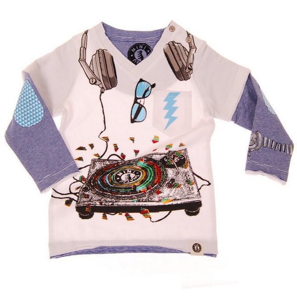 Mister DJ Baby Twofer T-Shirt by: Mini Shatsu