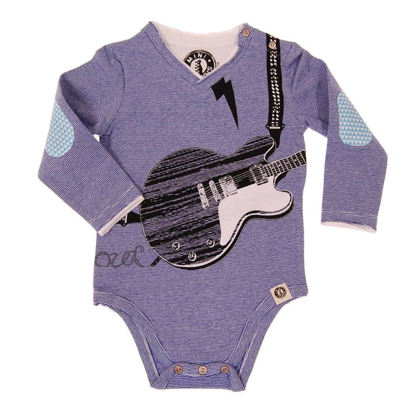 Electric Guitar Rocking Out Bodysuit by: Mini Shatsu