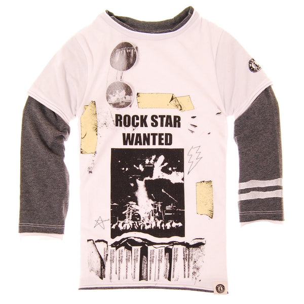 Rock Star Wanted T-Shirt by: Mini Shatsu