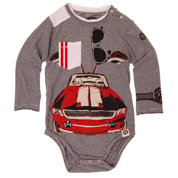 Classic Gullwing Bodysuit by: Mini Shatsu