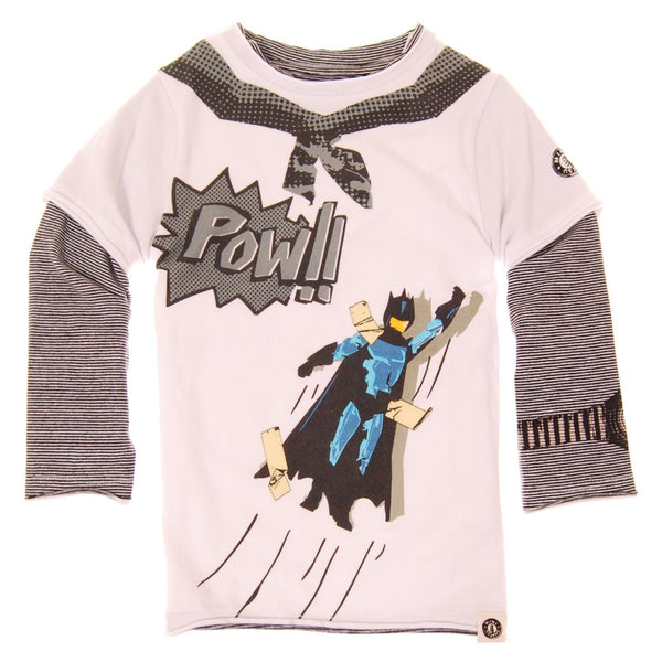 Pow! Super Hero Baby T-Shirt by: Mini Shatsu