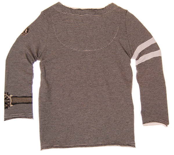 Bow Tie Cardigan Grey T-Shirt by: Mini Shatsu