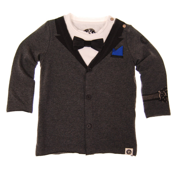 Red Carpet Tux Baby T-Shirt by: Mini Shatsu