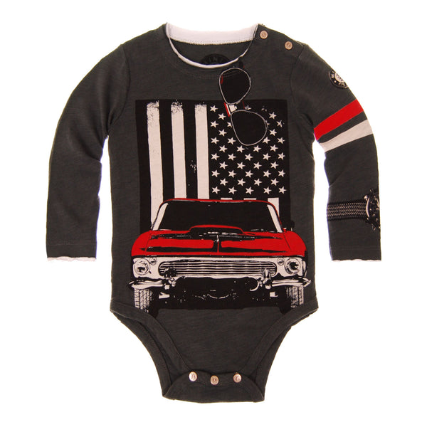 American Muscle Car Bodysuit by: Mini Shatsu