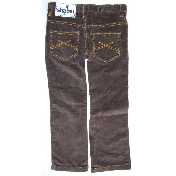 Brown Roy Corduroy Jeans by: Mini Shatsu