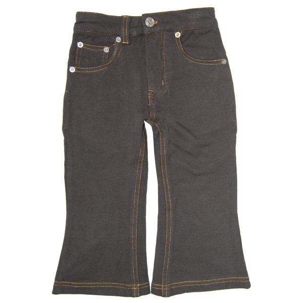 Brown Franco French Terry Baby Jeans by: Mini Shatsu