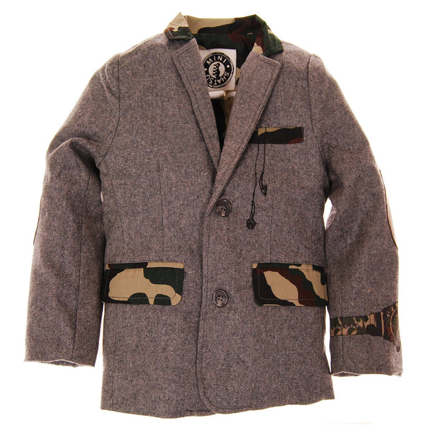 Hint of Camouflage Baby Blazer by: Mini Shatsu