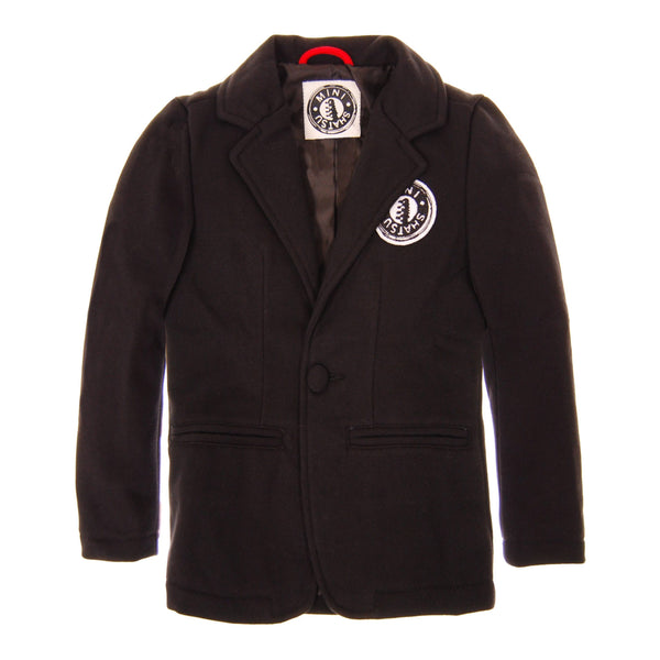 French Terry Officer Baby Blazer by: Mini Shatsu