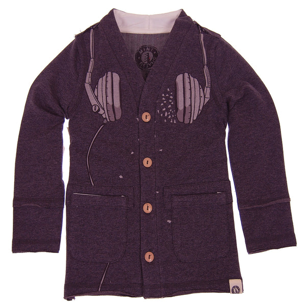 Headphones Cardigan by: Mini Shatsu