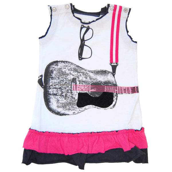 Acoustic Guitar Baby Dress by: Mini Shatsu