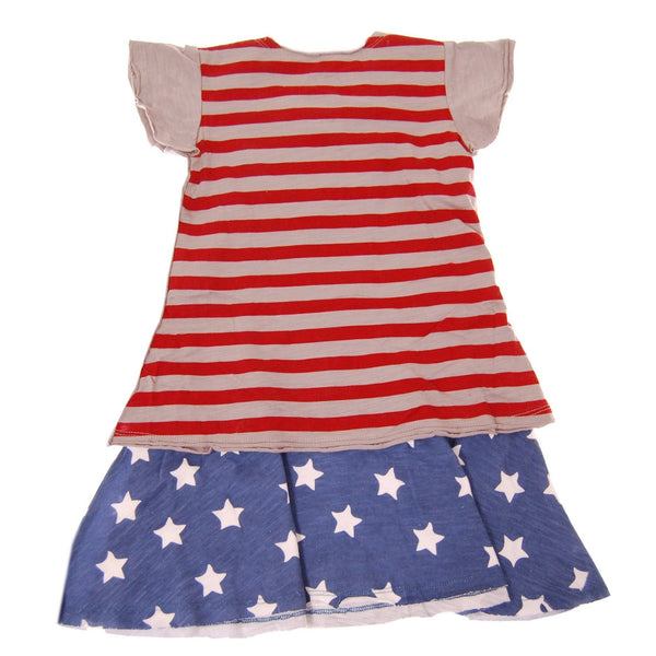Stars and Stripes Bikegirl Dress by: Mini Shatsu