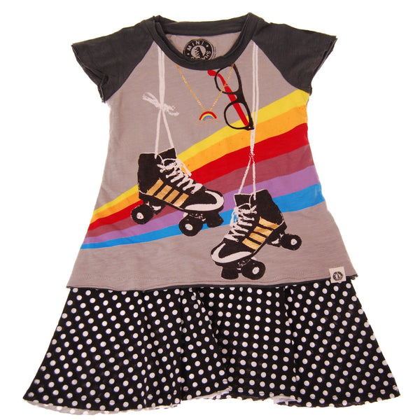 Roller Derby Baby Dress by: Mini Shatsu