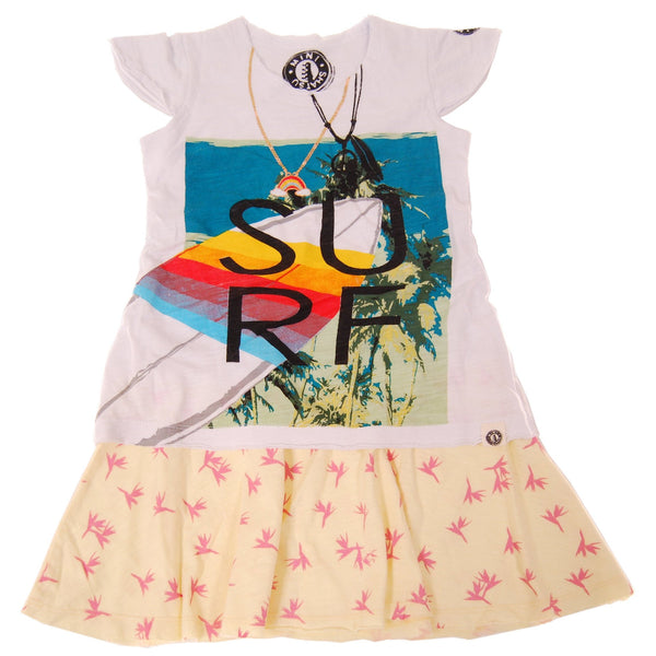 Birds of Paradise Surf Baby Dress by: Mini Shatsu