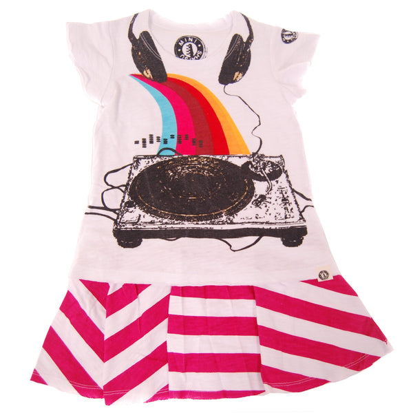 Summer DJ Baby Dress by: Mini Shatsu