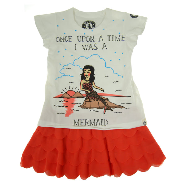 Once Upon A Time Mermaid Baby Dress by: Mini Shatsu