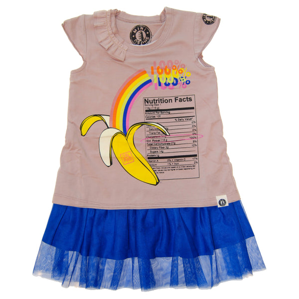 100% Girl Power Baby Dress by: Mini Shatsu