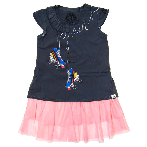 Fresh Roller Skates Baby Dress by: Mini Shatsu