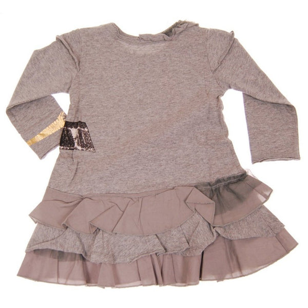 Miss Independent Baby Long Sleeve Dress by: Mini Shatsu