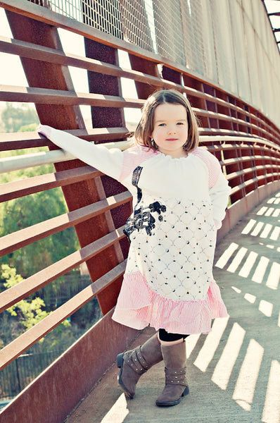 Prog Golfer Baby Long Sleeve Dress by: Mini Shatsu
