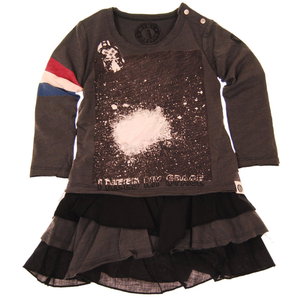 I Need My Space Baby Dress by: Mini Shatsu