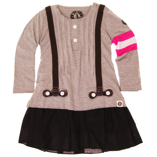 Real Suspenders Baby Dress by: Mini Shatsu