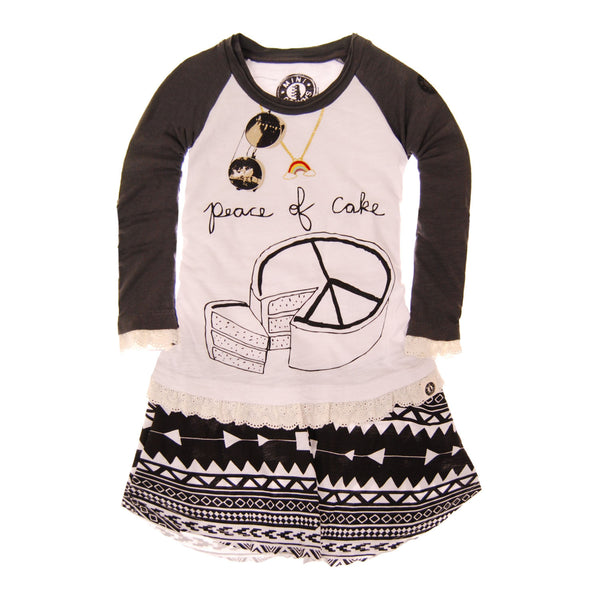 Peace of Cake Lace Baby Dress by: Mini Shatsu