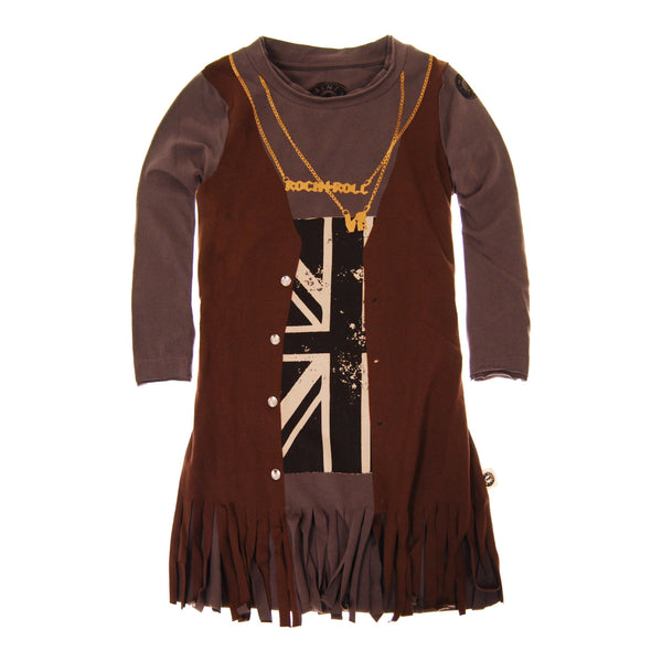 Rock and Roll Fringe Dress by: Mini Shatsu