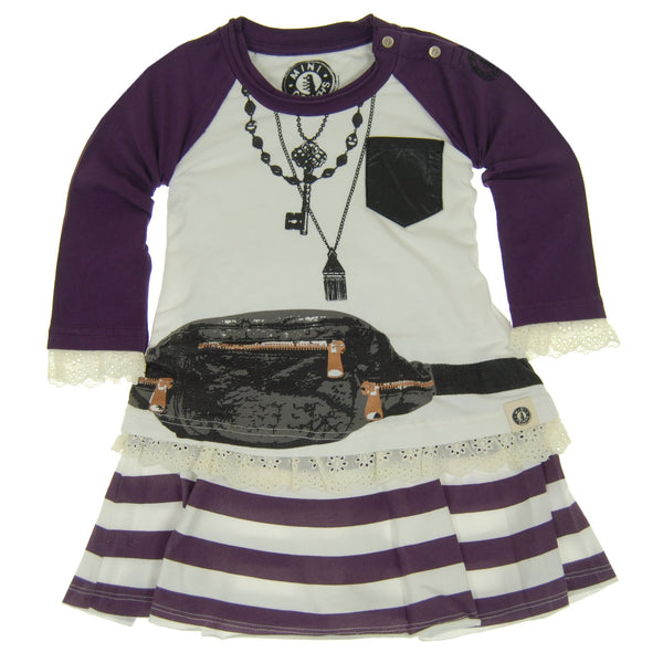 Leather Fanny Pack Baby Dress by: Mini Shatsu