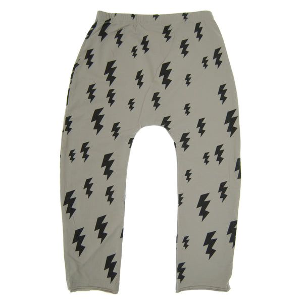 Lightning For Breakfast Baby Pants by: Mini Shatsu Essentials