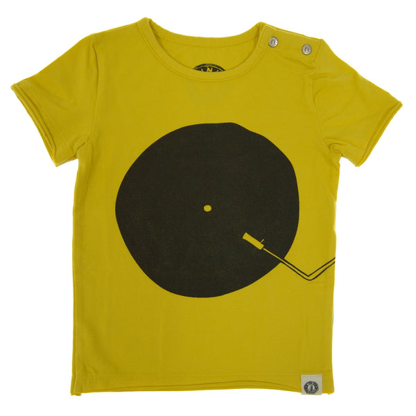 Vinyl DJ Baby T-Shirt by: Mini Shatsu Essentials