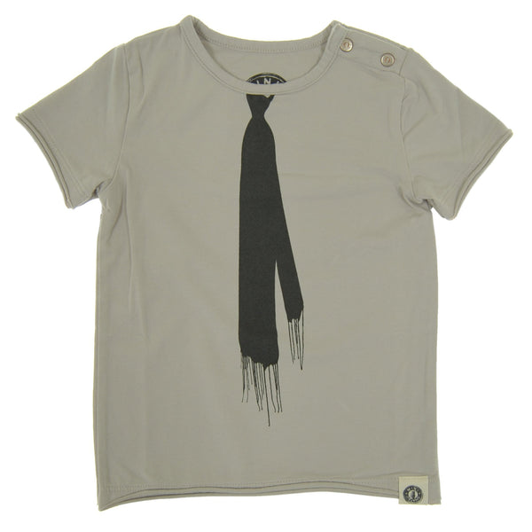 Drip Tie Suspenders Baby T-Shirt by: Mini Shatsu Essentials