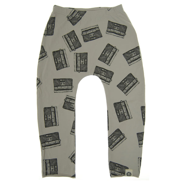 Allover Boom Box Baby Pants by: Mini Shatsu Essentials