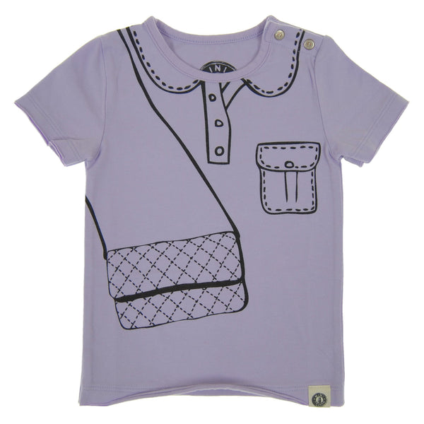 Marker Purse Baby T-Shirt by: Mini Shatsu Essentials