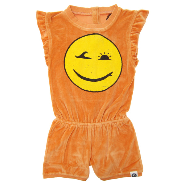 Happy Surfing Girl Romper by: Mini Shatsu