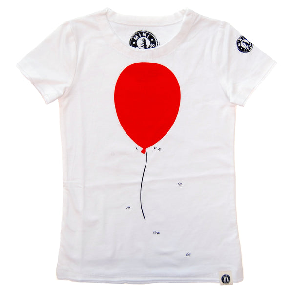 Love Is In The Air Baby T-Shirt by: Mini Shatsu