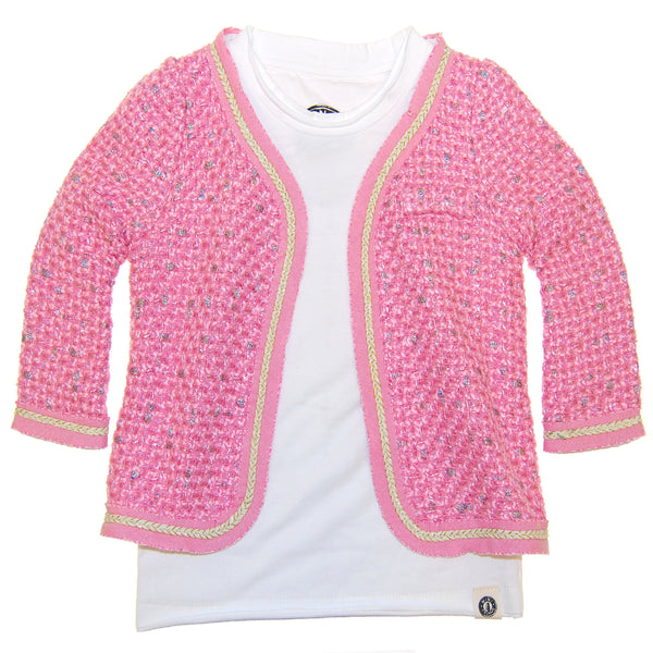 Pink Blazer Shirt by: Mini Shatsu