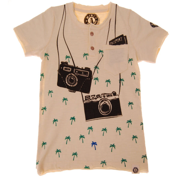 Island Vacation Henley Shirt by: Mini Shatsu