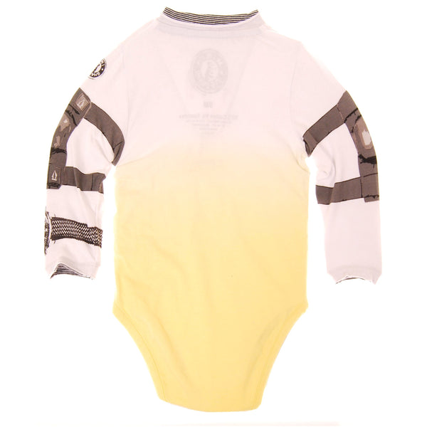 Skateboard Cruiser Henley Bodysuit by: Mini Shatsu