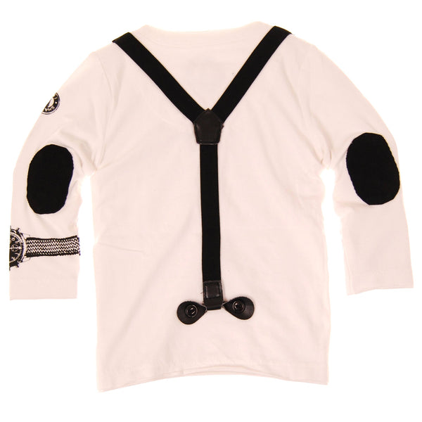 Real Suspenders Baby Henley by: Mini Shatsu