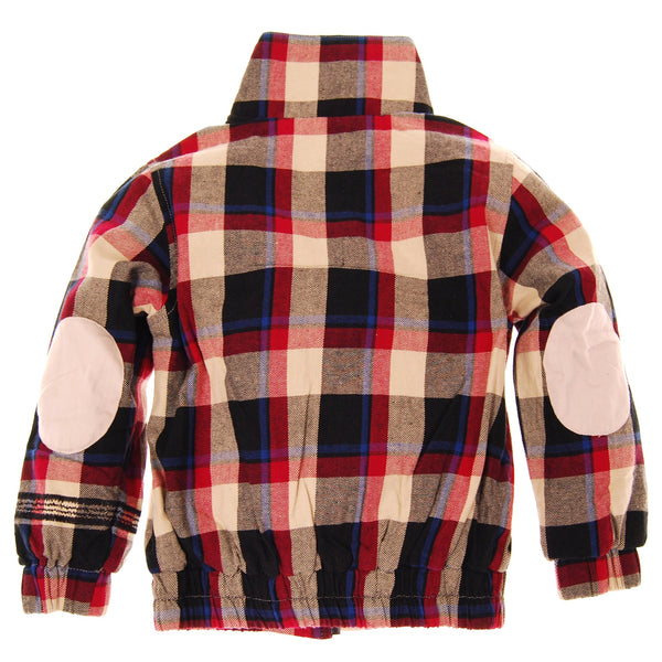 Plaid Workman Jacket by: Mini Shatsu