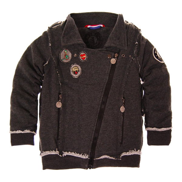 Biker Jacket Baby Jacket by: Mini Shatsu