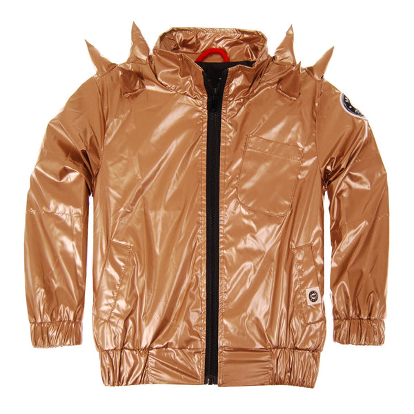 Gold Spikes Baby Windbreaker by: Mini Shatsu