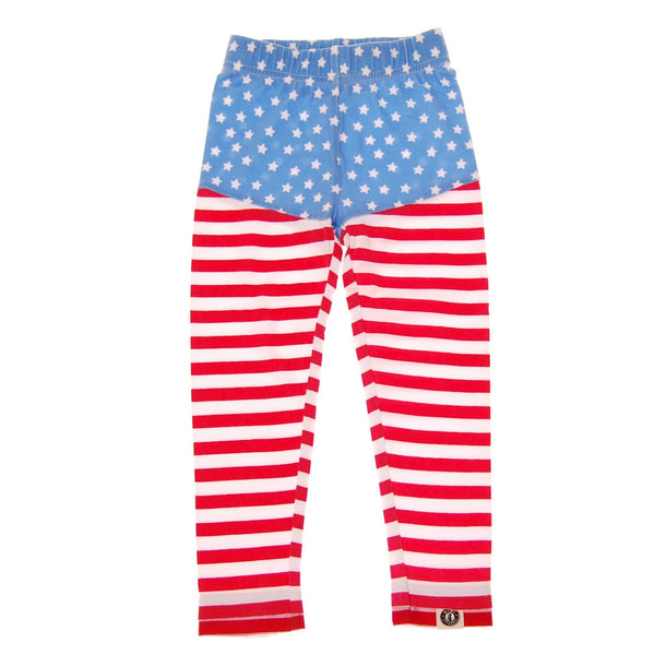 Stars And Stripes Baby Girl Legging by: Mini Shatsu
