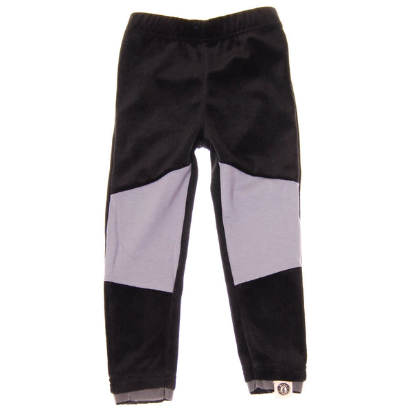 Black and Gray Baby Girl Legging by: Mini Shatsu