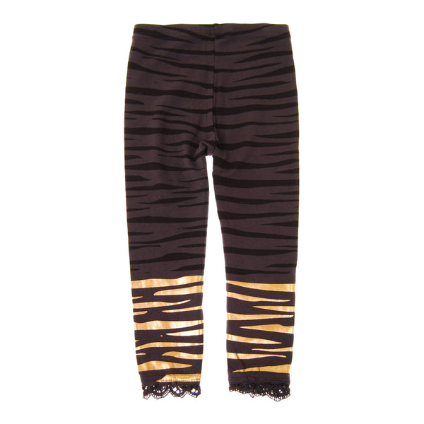 Golden Tiger Girl Legging by: Mini Shatsu