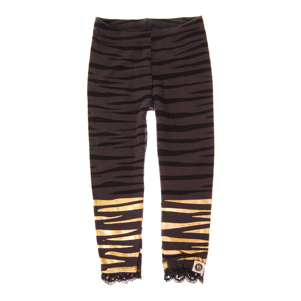 Golden Tiger Baby Girl Legging by: Mini Shatsu