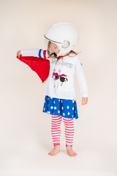Stars And Stripes Girl Legging by: Mini Shatsu
