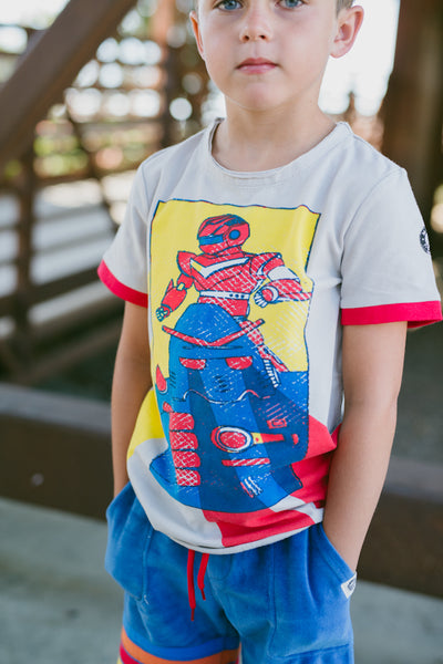 Vintage Robots T-Shirt by: Mini Shatsu