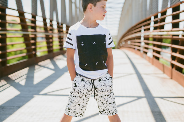 Splatter Shorts by: Mini Shatsu